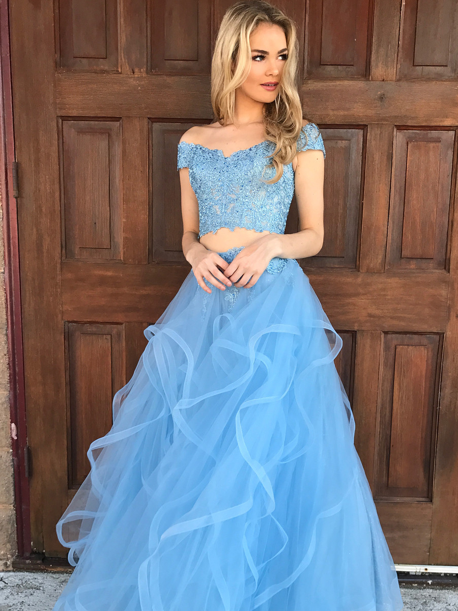 Lace Prom Dress,Off The Shoulder Prom Dresss, Prom Gown,Long Prom ...